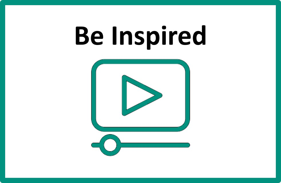 Click here for information about, 'Be Inspired'